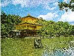 Kin Kaku Ki Temple, Koyoto