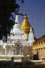 Shwedagon Golden Stupa Pagoda