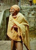 Wandering Mendicant at Dakshinkali