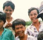 Vietnamese Children laughing
